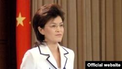 خانم جیانگ یو، سخنگوی وزارت خارجه چین