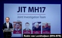 Презентація звіту міжнародної Слідчої групи JIT щодо розслідування збиття пасажирського авіалайнера рейсу МН17. Нідерланди, 19 червня 2019 року