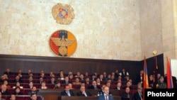 Армения - 8-й съезд Союза добровольцев «Еркрапа», Ереван, 16 февраля 2010 г.