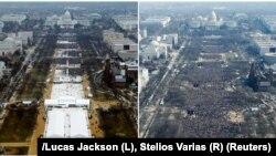 Odgovor medija Trampu: Levo atmosfera na Trampovoj, desno okupljeni na inauguraciji Baraka Obame 2008. godine