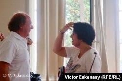 Doi directori de festival: Michel Lethiec (Prades), Mihaela Martin (Rolandseck)