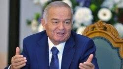 Өзбекстан президенті Ислам Каримов. Рига, 17 қазан 2013 жыл.