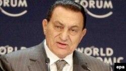 Хосни Мубарак в бытность президентом Египта. Архивное фото