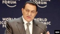 حسنی مبارک، رييس جمهوری مصر. (عکس: Afp)