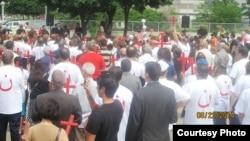 تظاهرة للجالية العراقية في ديترويت