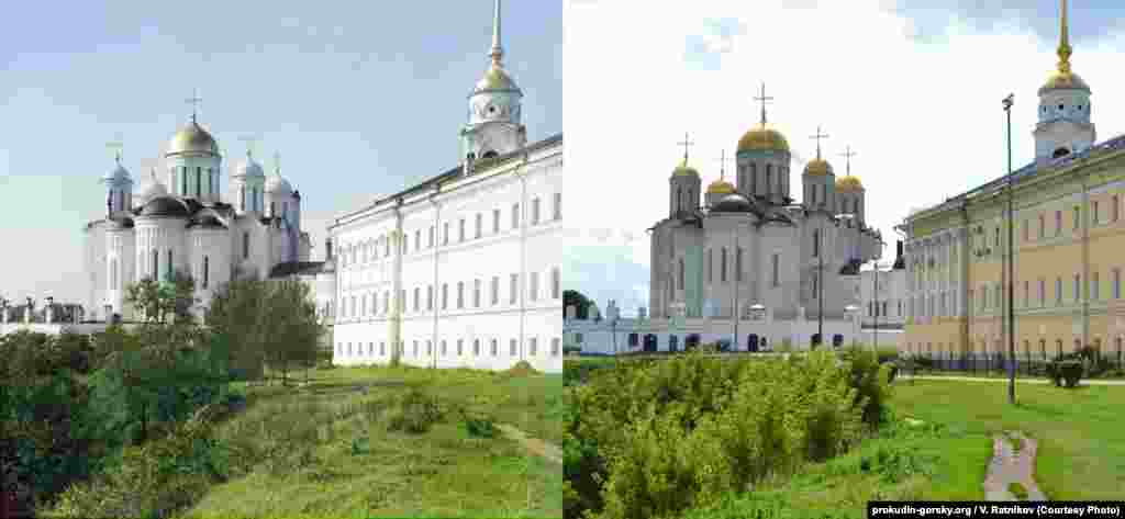 Assumption Cathedral in Vladimir, Russia. 2011/2015