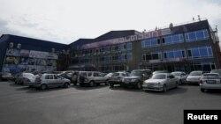 Здание телекомпании «Рустави 2» в Тбилиси