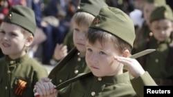 Детский парад Победы в Ростове-на-Дону, 14 мая 2015