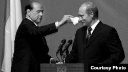 Сільвіо Берлусконі (ліворуч) і Володимир Путін, архівне фото