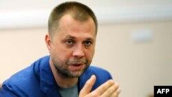 Өзін ДХР премьер-министрі деп атаған Александр Бородай. Донецк, 18 шілде 2014 жыл.