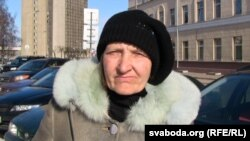 Маці вязьня Лідзія Каваленка