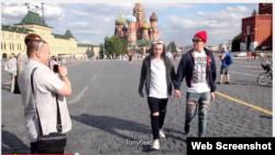 """Скриншот. Социальный ролик """"Избиение гомосексуалистов в России"""" на YouТube"""