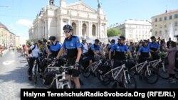Велополіція Львова, 20 травня 2018 року