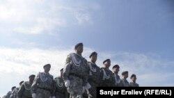 Кыргызская армия. Фото из архива