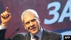Boris Tadić na predzbornom skupu u Nišu