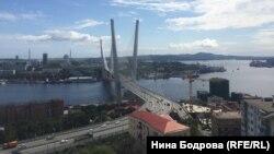 Столица Приморского края Владивосток.