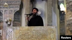 Some reports said Islamic State leader Abu Bakr al-Baghdadi may have been wounded in the U.S. air strikes on IS leaders in Mosul.