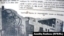 Azerbaijan - Communist newspaper about future of Baku