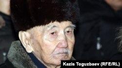 Мухамедкали Стамбеков, 83-летний отец погибшего полковника Стамбекова.