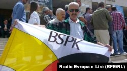 Protesta e BSPK-së (Foto: Arton Konushevci)