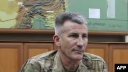 جنرال جان نیکلسن قوماندان عمومی ماموریت حمایت قاطع ناتو در افغانستان