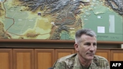 John Nicholson, the top U.S. and NATO commander in Afghanistan.