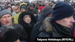 """Жители Петербурга на акции """"За честные выборы"""" 4 февраля 2012 г"""