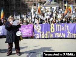 8. mart u Beogradu