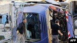 Водитель автобуса утверждает, что не было ни спора, ни обгона