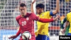 Sporno učešće u reprezentaciji: Sergej Milinković Savić na utakmici Srbije sa Brazilom