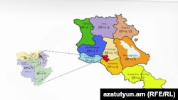Armenia -- The Administrative Division Map of Armenia, undated.