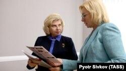 15 липня Людмила Денісова і Тетяна Москалькова зустрілися в Києві