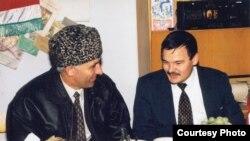 Аслан Масхадов һәм Рәфис Кашапов
