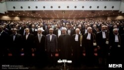 Iranian lawyers celebrating the 64th anniversary of the independence of the Bar Association. March 7, 2017