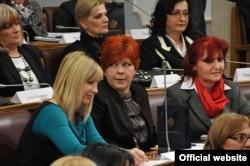 Zasjedanje Ženskog parlamenta, 8. mart 2012.