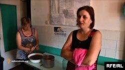 Оксана Горлова, біженка з села Сміливе