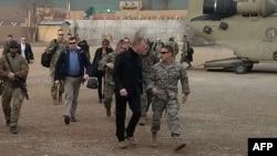 И.о. министра обороны США Патрик Шэнахан в Афганистане, 11 февраля 2019 года
