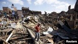 Нищівні наслідки непальського землетрусу (фотогалерея)