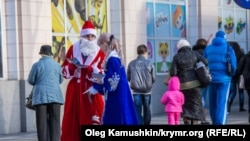 Ukraine, Crimea - Simferopol New Year, 26Dec2014