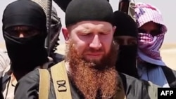 "One militant who fought with Islamic State commander Umar Shishani (above) says Umar's lack of military knowledge and tactics led to him using militants as ""cannon fodder,"" resulting in hundreds of deaths."
