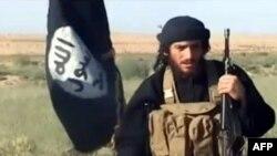 """Ислам мемлекеті"" экстремистік ұйымының өкілі Мухаммад Әл-Аднани."