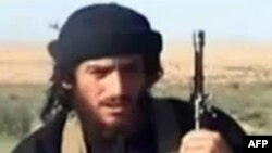 Официальный представитель экстремистской группировки «Исламское государство» (ИГ) Абу Мухаммад аль-Аднани.