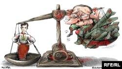 Політична карикатура Олексія Кустовського
