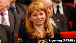 Лариса Опанасюк в 2009 году