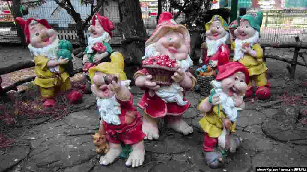 Семь веселых гномов живут в «Мультипарке»
