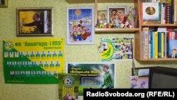 Кімната вбитого бойовиками 16-річного школяра Степана Чубенка