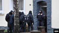 Під час однієї зі спецоперацій на півночі Німеччини, місто Гільдесгайм, 8 листопада 2016 року