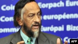 """Honest scientific discourse wilts under gross distortions and ideologically driven posturing,"" says Rajendra Pachauri, the chair of the Intergovernmental Panel on Climate Change."