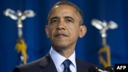 АҚШ президенті Барак Обама. Вашингтон, 3 желтоқсан 2012 жыл.