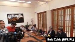 Konferencija za novinare Hrvatskih laburista - stranke rada, 13. ožujak 2012.